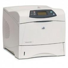 Imprimanta Laser Monocrom HP LaserJet 4250DN, A4, Duplex, 45 PPM, 1200 x 1200, Retea, USB, Toner Nou 20k