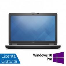Laptop DELL Latitude E6540, Intel Core i5-4300M 2.60GHz, 4GB DDR3, 500GB SATA, DVD-RW, 15.6 Inch Full HD, Webcam, Tastatura Numerica + Windows 10 Pro