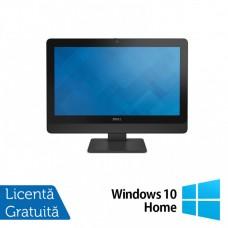 All In One DELL 9030, 23 Inch Full HD, Intel Core i5-4690S 3.20GHz, 4GB DDR3, 120GB SSD + Windows 10 Home