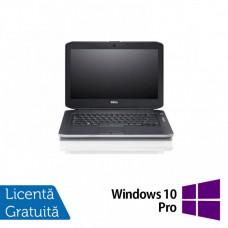 Laptop DELL Latitude E5430, Intel Core i5-3320M 2.60GHz, 4GB DDR3, 120GB SSD, DVD-RW, 14 Inch, Webcam + Windows 10 Pro
