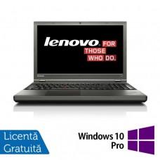 Laptop LENOVO ThinkPad T540P, Intel Core i5-4300M 2.60 GHz, 8GB DDR3, 120GB SSD, 15 Inch + Windows 10 Pro