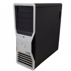 Statie grafica Refurbished Dell Precision T7500 Tower, 1x Intel Xeon X5667 Quad Core 3.06GHz - 3.46GHz, 24GB DDR3, HDD 1TB SATA, DVD-RW, Placa Video Nvidia Quadro 4000/2GB GDDR5/256 bit