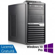 Calculator Acer Veriton M6610G Tower, Intel Core i5-2310 2.90GHz, 8GB DDR3, 120GB SSD + 500GB HDD, DVD-RW + Windows 10 Pro