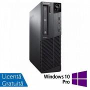 Calculator Lenovo Thinkcentre M92p SFF, Intel Core i5-3470 3.2GHz, 4GB DDR3, 500GB SATA, DVD-ROM + Windows 10 Pro