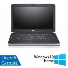 Laptop Dell Latitude E5530, Intel Core i7-3520M 2.90GHz, 8GB DDR3, 120GB SSD, DVD-RW, 15.6 Inch Full HD, Webcam + Windows 10 Home
