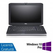 Laptop Dell Latitude E5530, Intel Core i7-3520M 2.90GHz, 8GB DDR3, 120GB SSD, DVD-RW, 15.6 Inch Full HD, Webcam + Windows 10 Pro