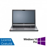 Laptop FUJITSU SIEMENS Lifebook E754, Intel Core i5-4210M 2.60GHz, 8GB DDR3, 240GB SSD, DVD-RW, 15.6 Inch + Windows 10 Pro