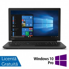 Laptop Toshiba TECRA A50-F, Intel Celeron Processor 4205U 1.80GHz, 4GB DDR4, 128GB SSD, 15.6 Inch, Tastatura Numerica, Webcam + Windows 10 Pro Education