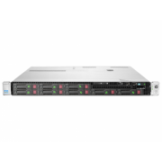 Server HP ProLiant DL360e G8, 1U, 2x Intel Octa Core Xeon E5-2450L 1.8 GHz-2.3GHz, 96GB DDR3 ECC Reg, 2x SSD 240GB SATA + 4x 900GB SAS/10k, Raid Controller HP SmartArray P420/1GB, iLO 4 Advanced, 2x Surse HOT SWAP