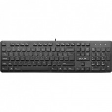 Tastatura Delux KA150U, cu fir, 105 taste, USB