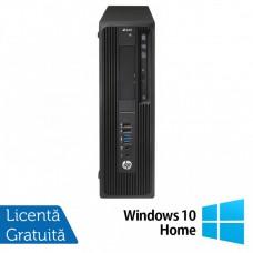 Workstation HP Z240 Desktop, Intel Xeon Quad Core E3-1230 V5 3.40GHz-3.80GHz, 32GB DDR4, SSD 512GB NVME High Speed + HDD 3TB SATA, nVidia K620/2GB, DVD-RW + Windows 10 Home