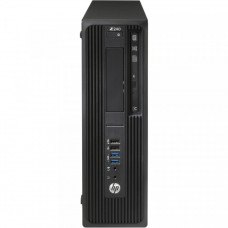 Workstation HP Z240 Desktop, Intel Xeon Quad Core E3-1230 V5 3.40GHz-3.80GHz, 16GB DDR4, SSD 120GB SATA, nVidia K620/2GB, DVD-RW