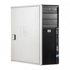 Workstation HP Z400, Intel Xeon Quad Core W3520 2.66GHz-2.93GHz, 12GB DDR3, 1TB SATA, Placa video Gaming AMD Radeon R7 350 4GB GDDR5 128-Bit, DVD-RW