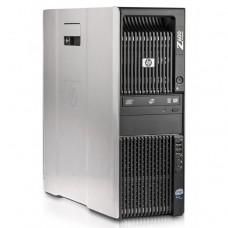 Workstation HP Z600, 1 x Intel Xeon Quad Core E5620 2.40GHz-2.66GHz, 16GB DDR3 ECC, 2TB SATA, DVD-ROM, AMD FirePro V4800 1GB GDDR5